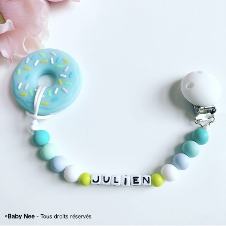 Baby rattle holder Donuts