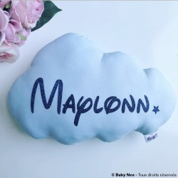 Baby cushion Blue