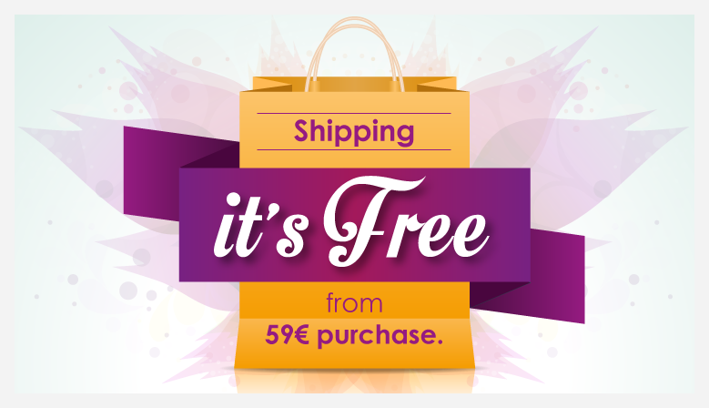 Free shipping from 59€ purchase